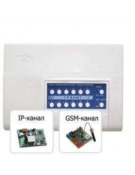 Объектовый прибор системы Лавина «Гранит-12» (USB) с УК и IP-коммуникаторами